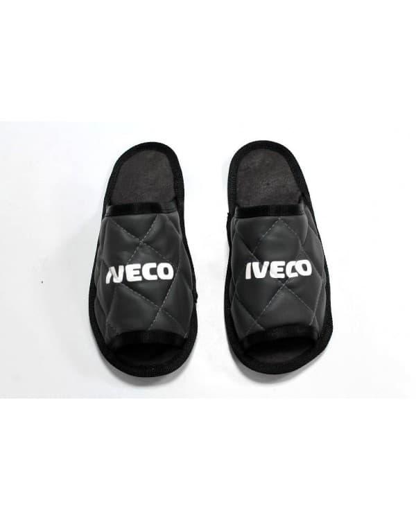 Тапочки экокожа IVECO (Черный)
