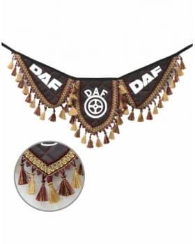 Вымпел крылья DAF экокожа бордо