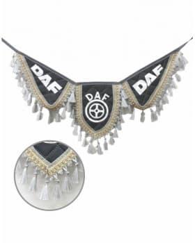 Вымпел крылья DAF серый экокожа