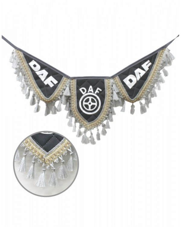 Вымпел крылья DAF серый