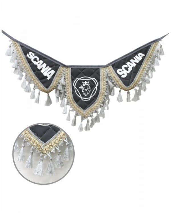 Вымпел крылья SCANIA серый