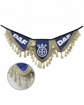 Вымпел синие крылья DAF из экокожи