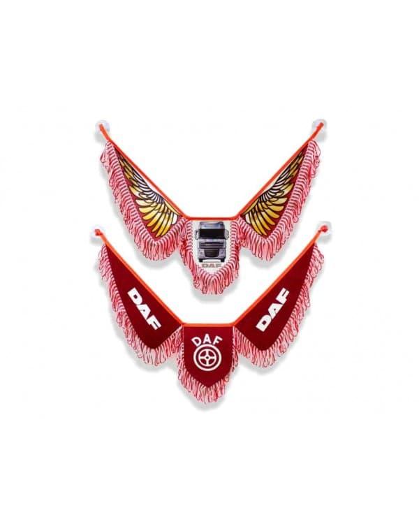 Вымпел DAF Красный Модель Крылья Авто